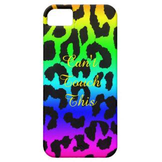 Rainbow Cheetah Print Phone Case iPhone 5 Cover