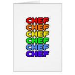 Rainbow Chef Card