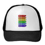 Rainbow Chef Trucker Hat