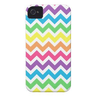 Rainbow Chevron iPhone 4 Covers