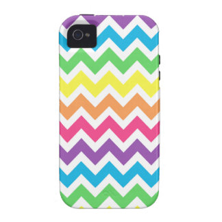 Rainbow Chevron iPhone 4/4S Cover