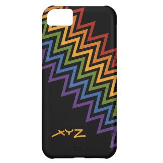 Rainbow Chevron Pattern custom cases iPhone 5C Cover
