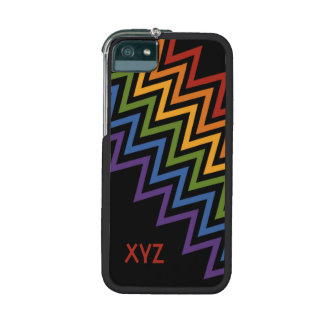 Rainbow Chevron Pattern custom cases Cover For iPhone 5/5S
