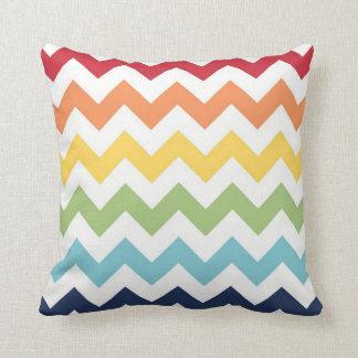 Rainbow Chevron Pillow