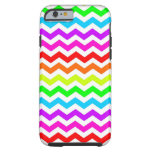 Rainbow chevron tough iPhone 6 case