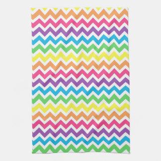 Rainbow Chevron Towel