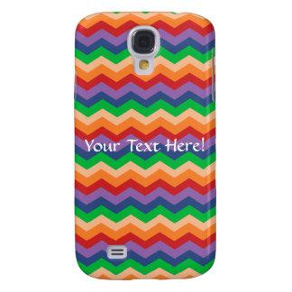 Rainbow Chevron Zig-Zag Galaxy S4 Cover