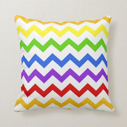 Rainbow Chevron Zigzag Kawaii Cute Zig Zag Pattern Throw