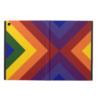 Rainbow Chevrons iPad Air Cases
