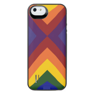 Rainbow Chevrons iPhone 5/5s Battery Case