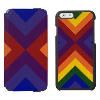 Rainbow Chevrons iPhone 6/6s Wallet Case