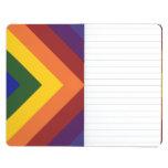 Rainbow Chevrons Journal