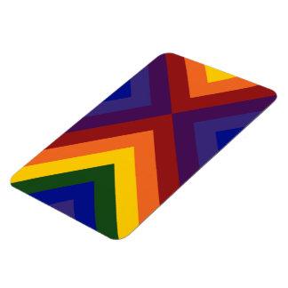 Rainbow Chevrons Magnet
