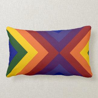 Rainbow Chevrons Pillows