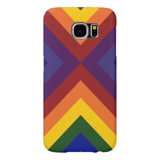 Rainbow Chevrons Samsung Galaxy S6 Case