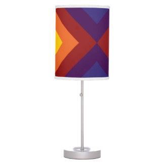Rainbow Chevrons Table Lamp