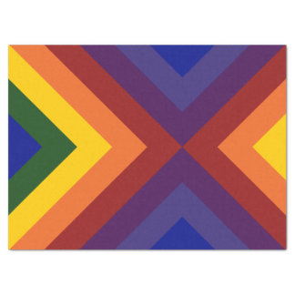 Rainbow Chevrons Tissue Paper