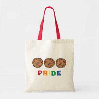 Rainbow Chip Cookie Pride Cookies Tote Bag