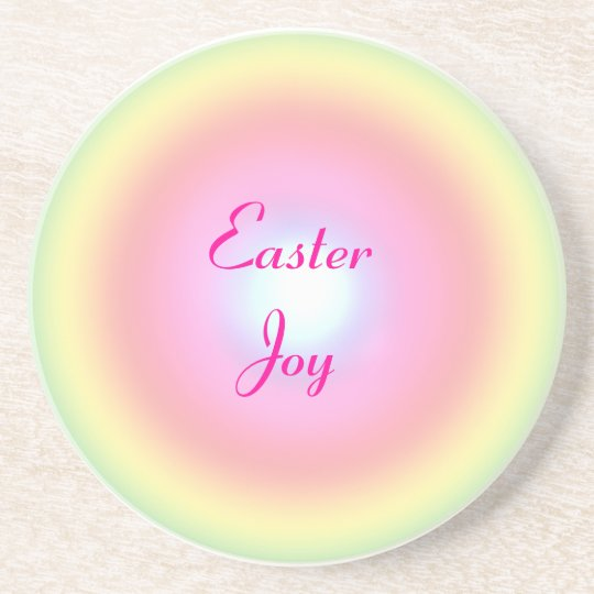 Rainbow Circle Easter Coaster