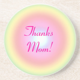 Rainbow Circle Mother's Day Drink Coaster