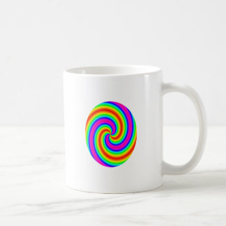 Rainbow Circle Classic White Coffee Mug