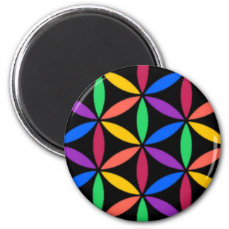 Rainbow circles magnet
