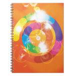Rainbow Circles Notebook
