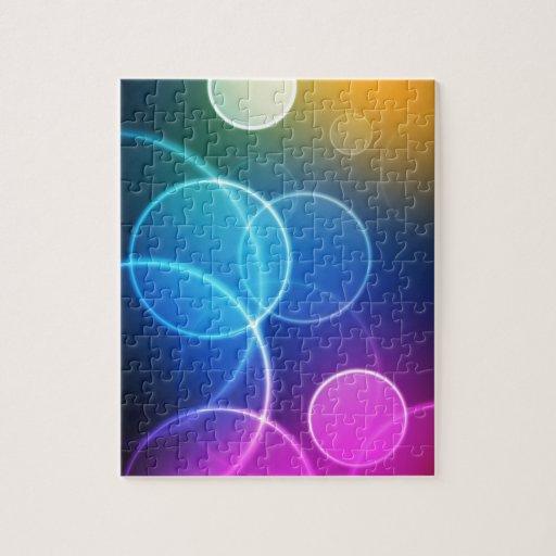 Rainbow Circles Puzzles