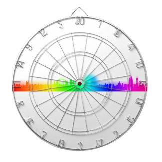 Rainbow City-London Dart Board