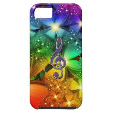 Rainbow Clef iPhone 5 Covers
