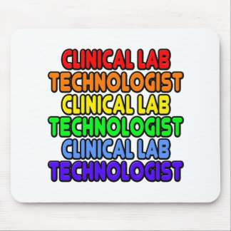 Rainbow Clinical Lab Technologist Mouse Pad