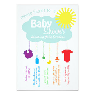 rainbow baby shower gifts on zazzle