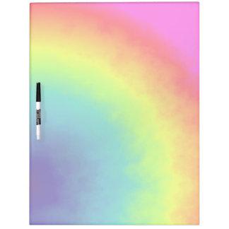 rainbow cloud dry erase board