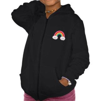 Rainbow Cloud Girls Hoodie