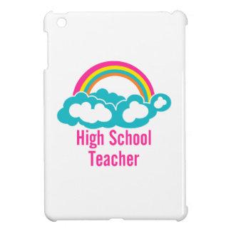 Rainbow Cloud High School Teacher iPad Mini Cases