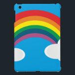 "Rainbow Cloud Image iPad Mini Case<br><div class=""desc"">Rainbow Cloud Image</div>"