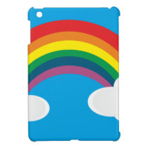Rainbow Cloud Image iPad Mini Case