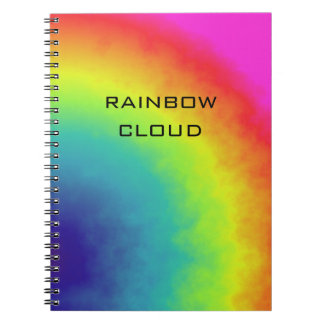 rainbow cloud notebook