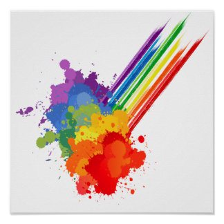 RAINBOW CLOUD -.png Poster