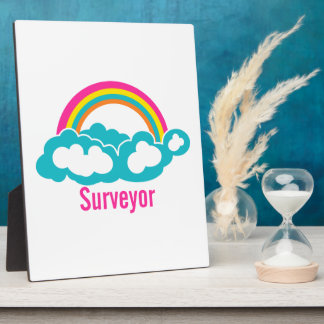Rainbow Cloud Surveyor Display Plaque