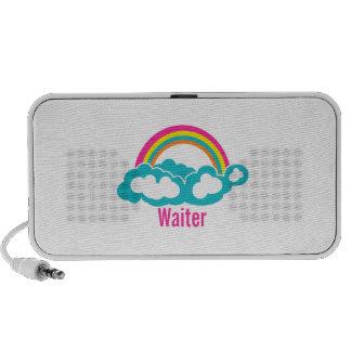Rainbow Cloud Waiter Mp3 Speaker