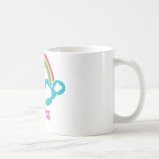 Rainbow Cloud Waitress Coffee Mugs