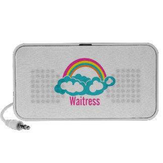 Rainbow Cloud Waitress Speaker