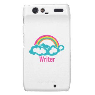 Rainbow Cloud Writer Motorola Droid RAZR Case