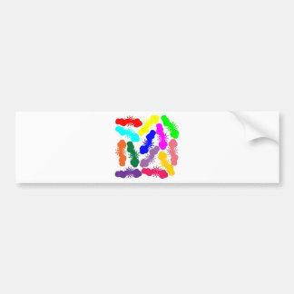 Rainbow Clouds Bumper Sticker