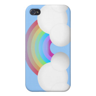 Rainbow & Clouds iPhone 4/4S Case