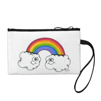 Rainbow Clouds of Joy Coin Purse