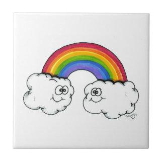 Rainbow Clouds of Joy Tiles