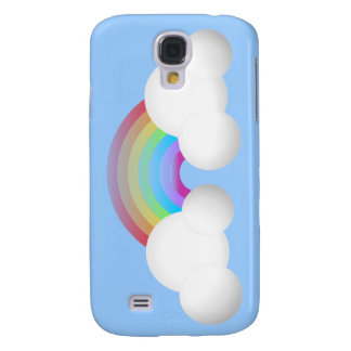 Rainbow & Clouds Samsung S4 Case