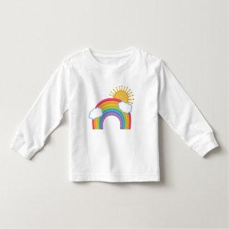 Rainbow Clouds Toddler T-shirt